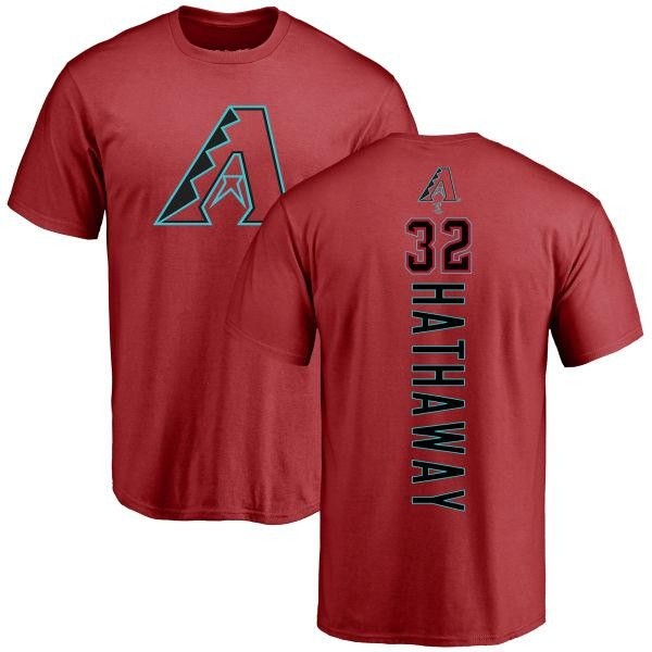 Arizona Diamondbacks Steve Hathaway Men's Backer T-Shirt - Red