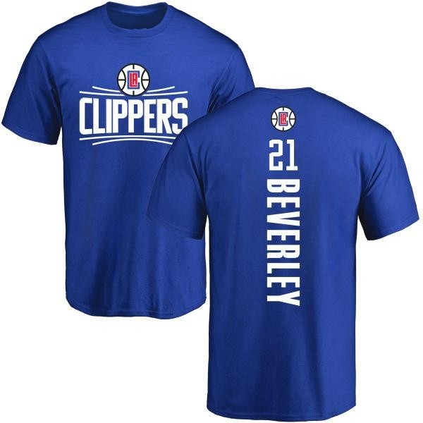 Los Angeles Clippers Patrick Beverley Men's Royal Backer T-Shirt